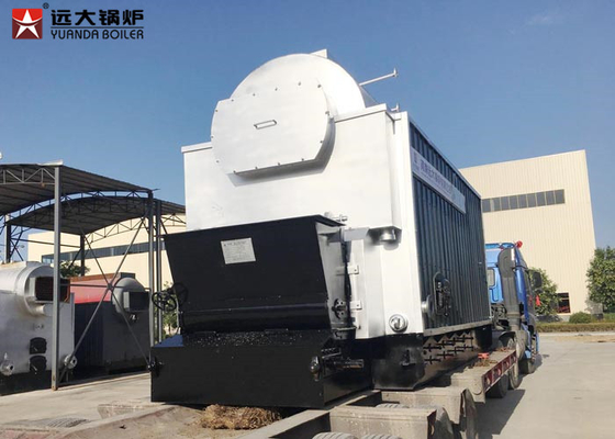 China 10 Ton Bagasse Fired Steam Boiler , Large Stove Biomass Boiler For Paper Mill supplier