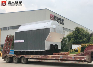China 6 Ton Wood Fired Steam Boiler , Large Stove Biomass Boiler For Rice Mills supplier