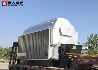 China Horizontal 5 Ton Wood Fired Steam Boiler , Biomass Fuel Boiler For Paper Mill supplier