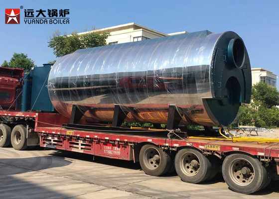 China Diesel Fuel Fired 15 Ton Fire Tube Steam Boiler , Most Efficient Boiler For Fish Mill supplier