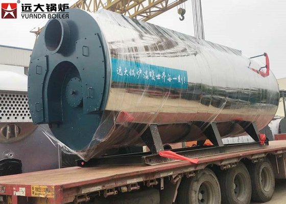 China 400 Hp Fire Tube Steam Boiler , Heavy Oil Fired Boiler For Food Factory supplier