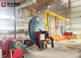 China Durable 10Tph Horizontal Fire Tube Boiler Lpg Fired Boiler Operate Automatically supplier