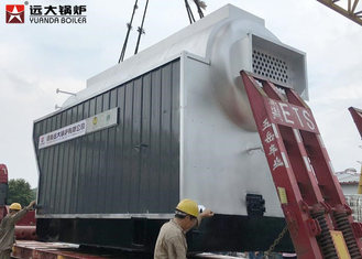 China High Efficiency 5 Ton Wood Fired Steam Boiler Biomass Fuel Boiler For Paper Mill supplier