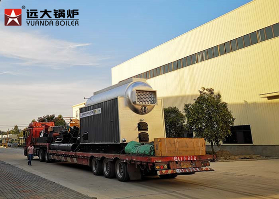China 1000Kgs Industrial Biomass Steam Boiler Used For Rice Mill Boiler , High Efficiency supplier