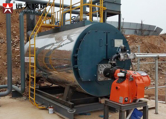 China Horizontal 6 Ton Hr Diesel Oil Fired Boilers Laundry Steam Boiler For Washing supplier