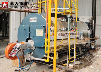 China Easy Operation 6T Gas Oil Steam Boiler Automatic Running For Fruits Dehydration Line supplier
