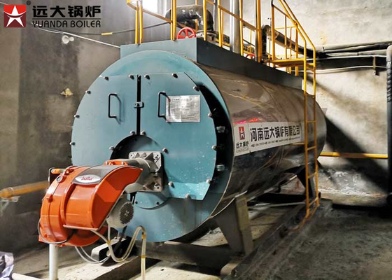 China 10 Tons Wet Back Structure Gas Fired Boilers 10 Bar Use In Milk Factory supplier