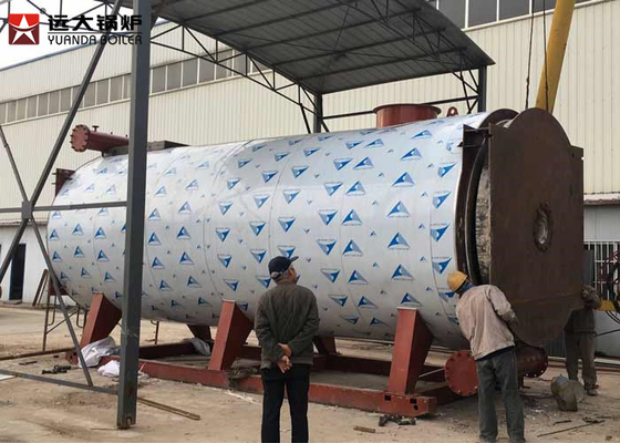 China 5 Ton Diesel Oil Fired Thermic Oil Boiler For Carboard And Paper Factory supplier