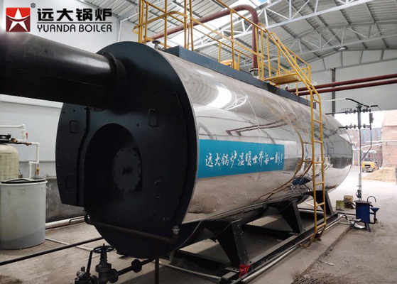 China Automatic Gas Steam Boiler / Fire Tube Boiler For Apartment Building supplier