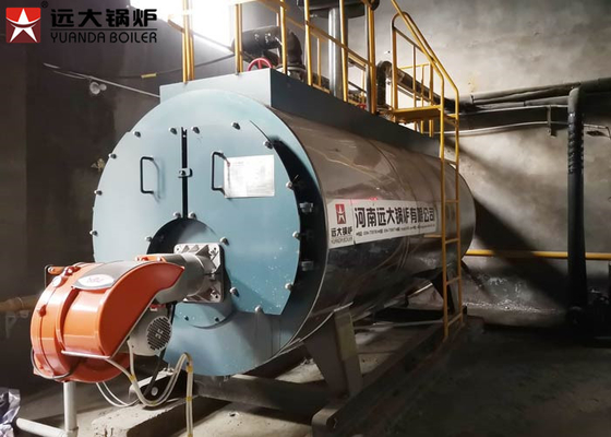 China 1Ton 2Ton Hr Diesel Oil Steam Boiler Fire Tube With 2 Years Warranty supplier