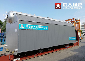 China SZL Chain Grate 15 Ton Biomass Fired Boiler 1 Ton - 30 Ton For Textile Factory supplier