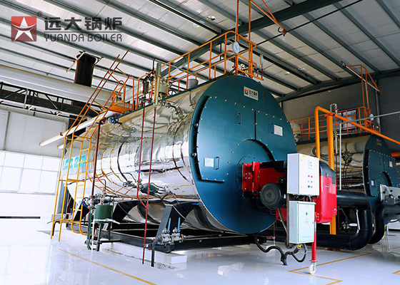 China 10 Tph Diesel Oil Steam Boiler Industrial Steam Boiler For Rice Mill Paper Mill supplier