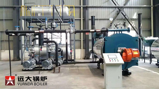 China Energy Saving Efficient Gas Fire Thermal Oil Heater Boiler For Timber Drying supplier