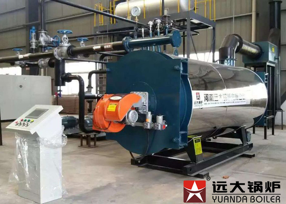 China 7000Kw Diesel Fired Thermal Oil Heater Boiler For Wood Processing Industry supplier