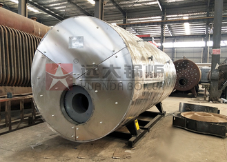 China Automatic Water Feeder Gas Steam Boiler 2000Kghr For Soft Drinks Plant supplier