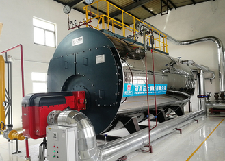 China 2 Ton Gas Steam Boiler High Efficiency For Carbonated Beverage Production Line supplier