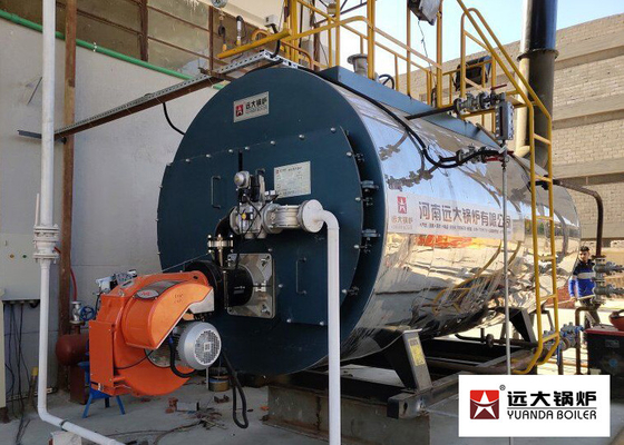 China Full Auto Gas Oil Three Way Fire Tube Steam Boiler 0.5t - 20t Boiler Capacity supplier