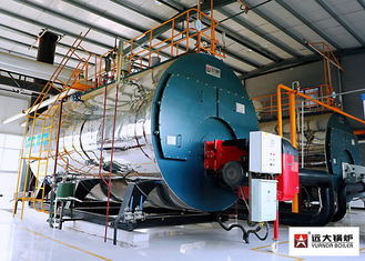 China 1T / H To 20 T / H Gas Oil Fuel Fired Boiler , WNS Fire Tube Boiler supplier