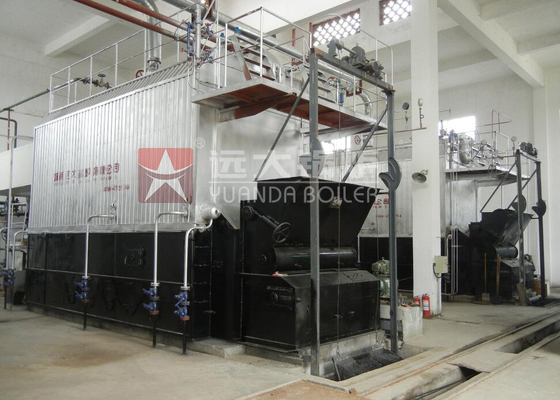 China Dzl6 Chain Grate Coal Fired Steam Boiler 6 Ton Per Hours For Rice Mill / Textile Mill supplier