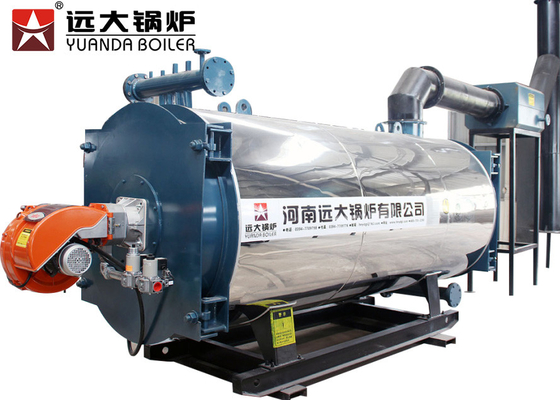 China Lpg Oil Natural Gas Fired Steam Boiler 7000KW Thermal Capacity For Textile Factory supplier