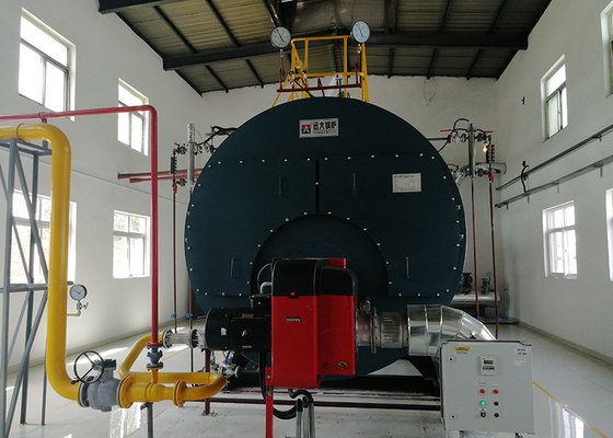 Full Automatic Control Natural Gas Steam Boiler In Cement Industry ISO9001
