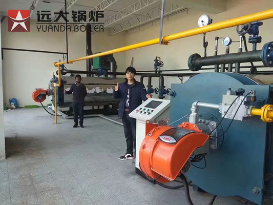 China Textile Factory Oil Fired Heating Boilers With 7000KW Thermal Capacity supplier