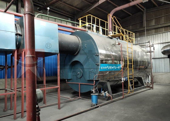 China Light / Heavy Oil Hot Water Boiler Automatic Running 500 Kg/H - 20 Ton/H Capacity supplier