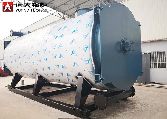 China Forced Circulation Diesel Oil Fired Thermal Oil Boiler 350kw - 7000kw Capacity supplier