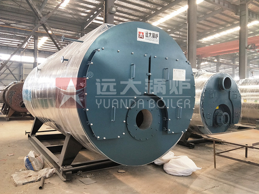 4 Ton Steam Boiler Equipment Horizontal Three Return Coil Type Automatic Operation