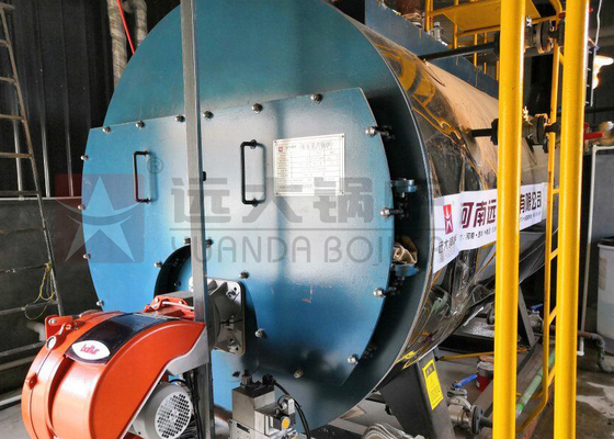 China Condensing Oil Fire Tube Steam Boiler Industrial High Efficiency For Sugar Mill supplier