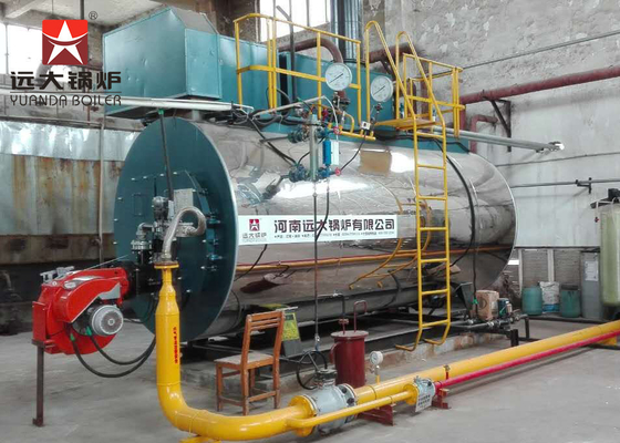 China Wet Back Structure Three Pass Fire Tube Boiler Interlock Alarm Safety Device supplier
