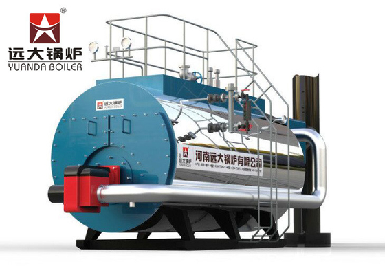 China 4 Ton High Efficiency Natural Gas Boiler / Horizontal Gas Fired Steam Boiler supplier