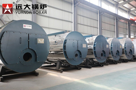 China Automatic Indsutrial Steam Boiler Low Presure Running Safety Steam Boiler supplier