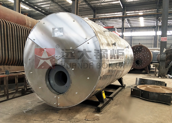 China Stable 1500kg/H Gas Oil Steam Boiler 1.0 Mpa / 1.6MPa Rated Working Pressure supplier