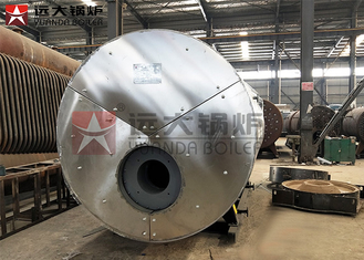China Diesel Gas Horizontal Fire Tube Boiler 6 Ton High Speed Corrosion Resistance For EPS supplier