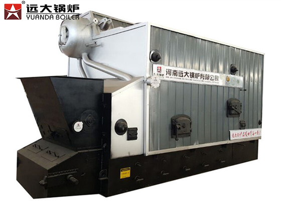 3 Pass 2000kg/Hr Multi Fuel Bagasse Fired Steam Boiler For Soap Factory
