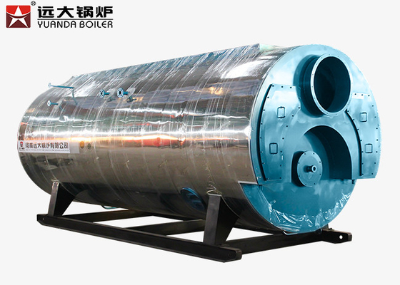 China High Efficiency Fire Tube Steam Boiler Equipment 1 Ton - 20 Ton Capacity supplier