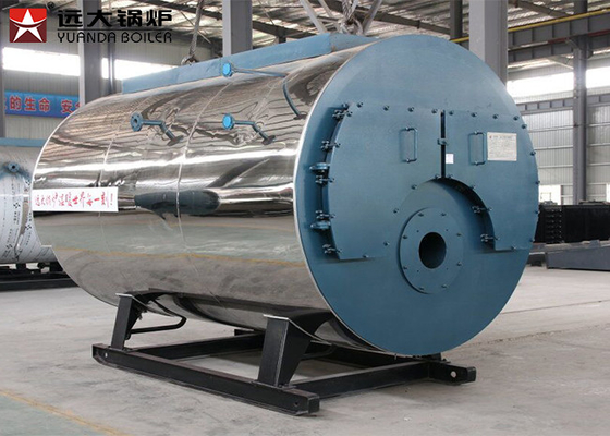 Commercial Heater Natural Gas Steam Boiler 1000kg For Leather Industry Loop Design