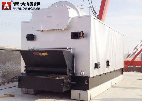 China Capacity 1 Ton - 20 Ton Coal Fired Hot Water Boiler 1.25MPa / 1.5MPa Pressure supplier
