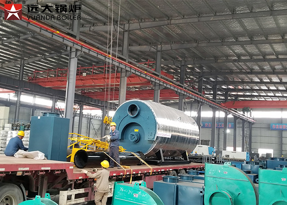 Diesel Heavy Oil Steam Boiler Automatic Fire Tube 1.6MPa Working Pressure