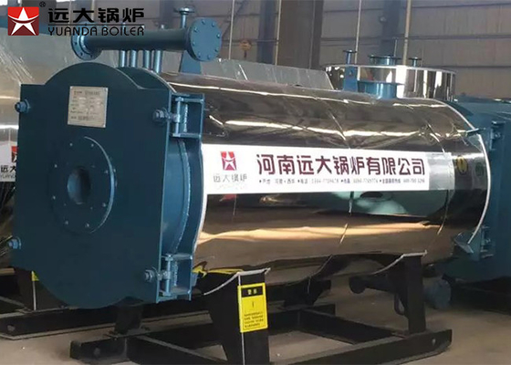 China Steel Cover Material Thermal Oil Heater Boiler / Oil Fired Heating Boilers supplier