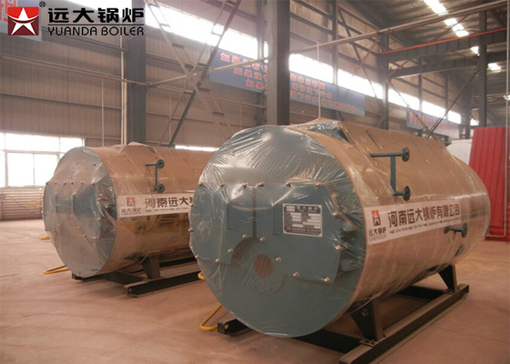 China 3000kgh Cast Iron Gas Fired Steam Boiler 1.0 MPa Working Pressure For Paper Manufacturing supplier
