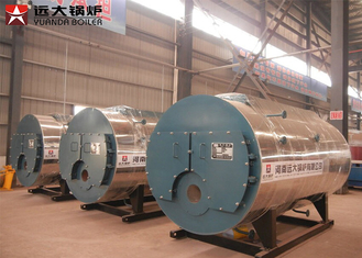 China 3000kgs Residential Oil Fired Hot Water Boiler 350kw 700kw For Center Heating supplier