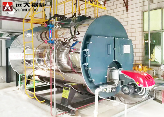 High Performance 10 ton Gas Steam Boiler for Garment Industry