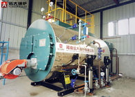 China Natural Gas Diesel Oil Fired Hot Water Boiler 1 Mw 95% High Efficiency factory