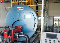 China Automatic Industrial Natural Gas Steam Boiler Three Pass Type Boiler 1 Ton company