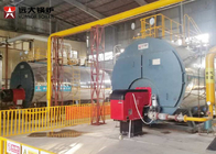 China 1 Ton Per Hour Gas Steam Boiler Low Pressure Boiler 5 Bar Working Pressure company