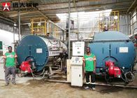 10 Ton 5 Bar Pressure Oil Steam Boiler , Vegetable Oil Refiniery Oil Fired Boilers