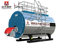 4 Ton High Efficiency Natural Gas Boiler / Horizontal Gas Fired Steam Boiler