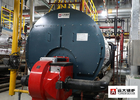 PLC Control Industrial Fire Tube Steam Boiler Natural Gas Fired 5000Kg